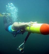 Zemūdens orientēšanās sportists
