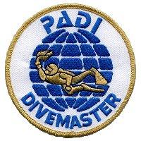 PADI Divmaster