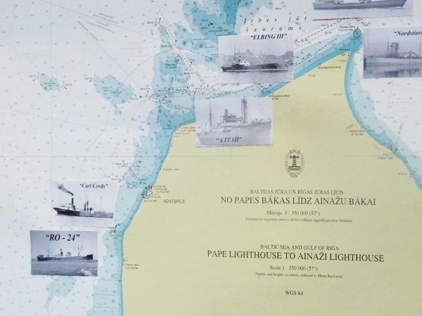 Daivings.lv foto: Kurzemes piekraste ar kuģu vrekiem