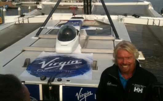 Zemūdens ceļojumi ar Virgin Oceanic