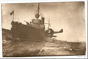 Kuģis virsaitis M-68