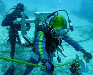 Metereoītu meklēšana jūrā