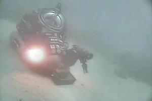 Nasa zemūdens transporta līdzeklis - NEEMO 15