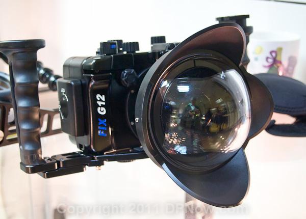 Canon G12 zemūdens filmēšana