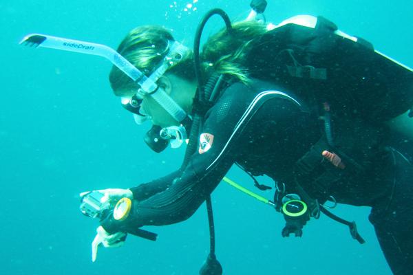 GoPro Hero2 zemūdens filmēšana