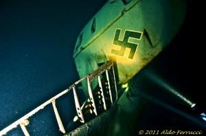 Nogrimusi vācu lidmašīna