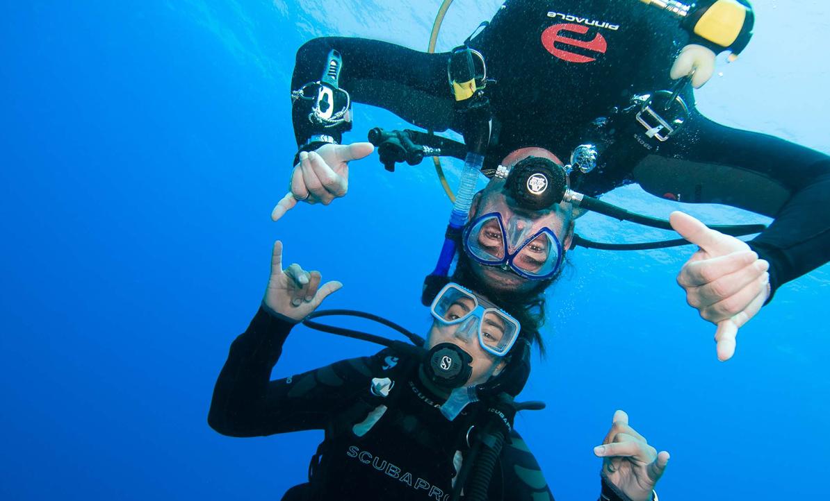 Discover Scuba Diving sertifikats