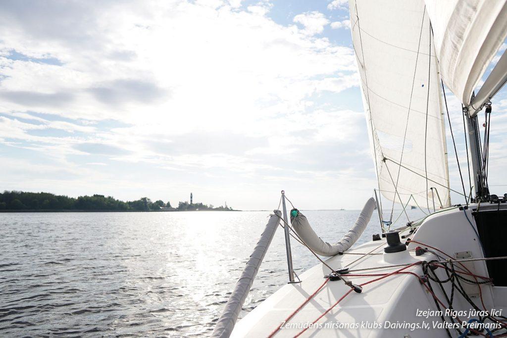 Izejam Rīgas jūras līcī