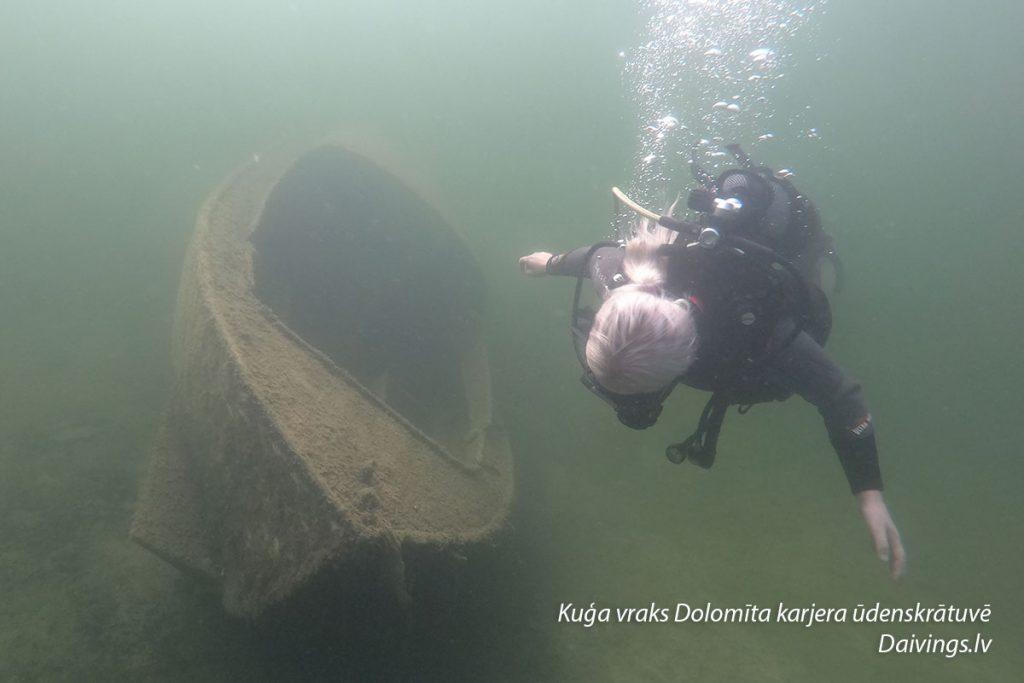 Кораблекрушение Доломитовый карьер