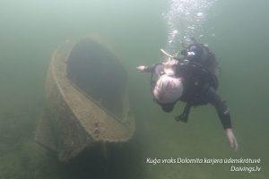 Shipwreck Dolomite quarry reservoir