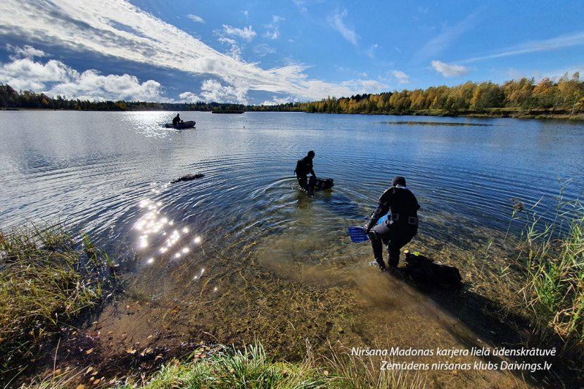 Niršana Madonas karjera lielā ūdenskrātuve