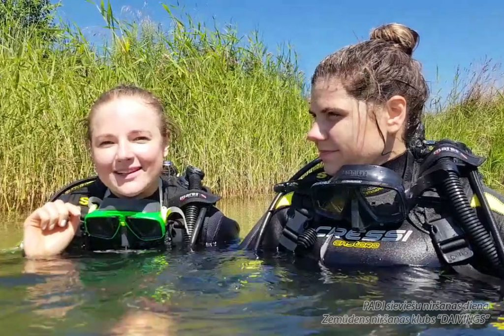 PADI Women's Diving Day with Diving