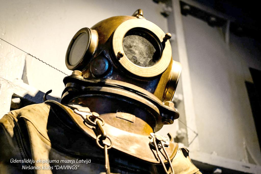 Ūdenslīdēju ekipējuma muzejs Latvijā