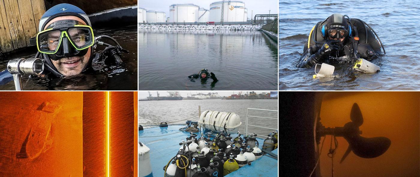 Underwater technical works