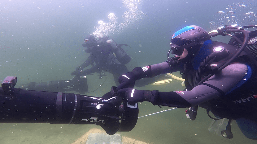 underwater scooter courses